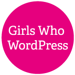 Girls Who WordPress Logo